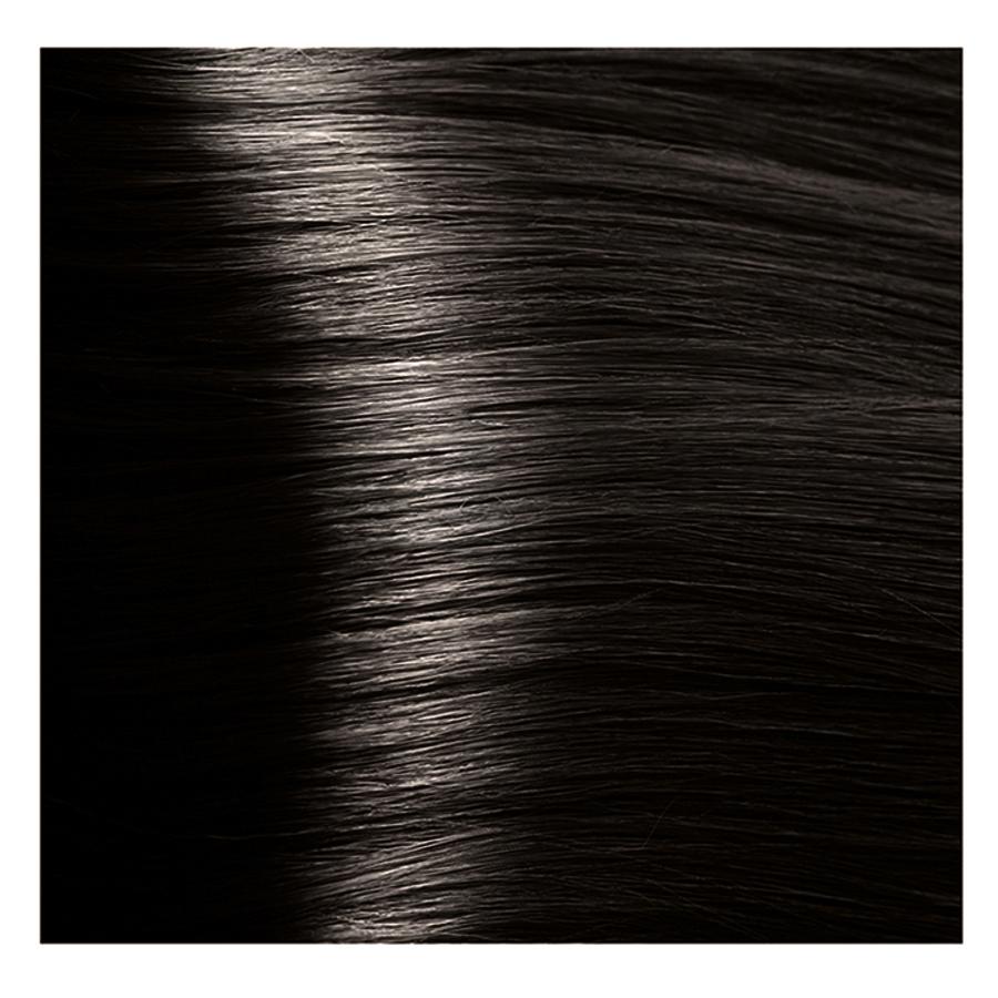 KAPOUS 4.00 крем-краска для волос / Hyaluronic acid 100мл краска для волос kapous professional hyaluronic acid hair color серебро