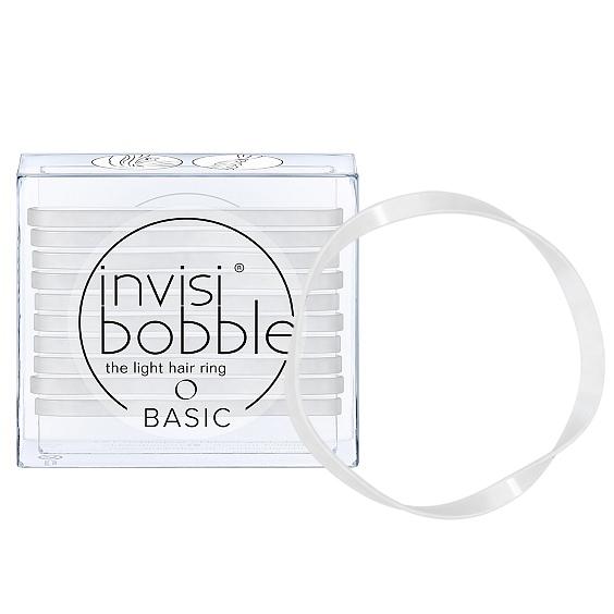 Купить INVISIBOBBLE Резинка для волос / BASIC Crystal Clear 10 шт