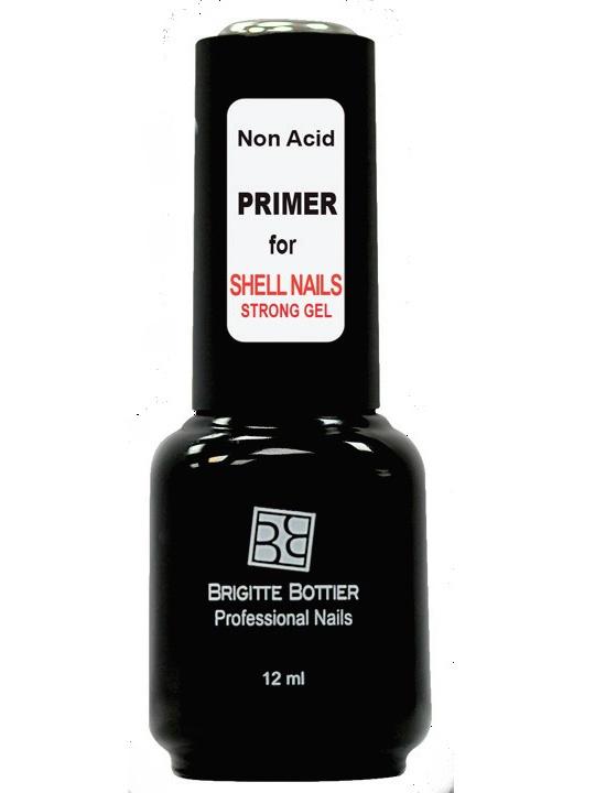 BRIGITTE BOTTIER Праймер бескислотный для гель-лака / Shell Nails 12 мл