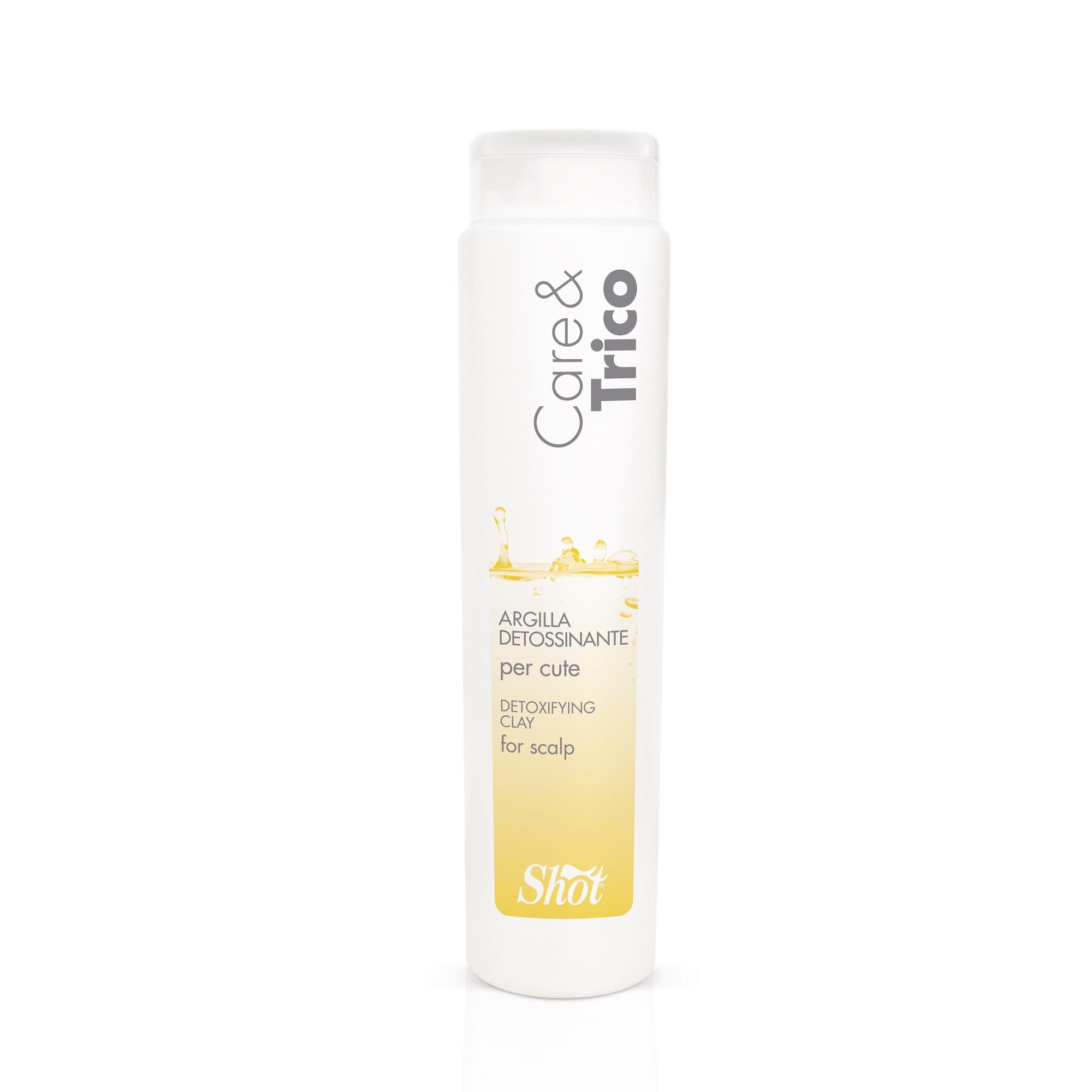 SHOT Глина выводящая токсины для кожи головы / CARE & TRICO 250мл -  Глины
