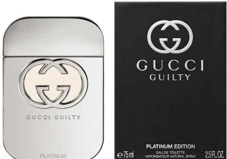 GUCCI Вода туалетная женская Gucci Gulty Platinum 75 мл
