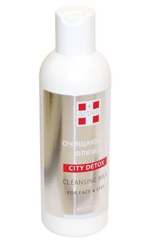 ACTIVE Флюид очищающий для лица / CITY DETOX 200 мл - Флюиды