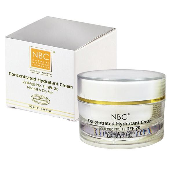 NBC Haviva Rivkin Крем морковный / Concentrated Hydratant Cream (anti age   1) 50млКремы<br>Регенерирующий морковный крем. Самый мощный и высокоэффективный противовозрастной комплекс. Этот уникальный комплекс оказывает моментальное омолаживающее воздействие предотвращает появление морщинок придавая коже гладкость, эластичность и здоровый вид. Обладает исключительными качествами: активной стимуляцией регенерации клеток, максимального увлажнения, питания и повышения способности кожи удерживать влагу. В минимальном количестве оказывает антисеборейный эффект, нормализует выделение себума.Активные ингредиенты: масла сладкого миндаля, жожоба, кокосовое, морковное, оливковое, ретинола пальмитат, токоферола ацетат, ланолин, мед.Способ применения: нанести небольшое количество крема на кожу лица и шеи и осторожно массировать влажными кончиками пальцев до образования нежной пены. Распределить пену равномерно по всему лицу, участкам кожи под глазами, шеи и легко вбивать кончиками пальцев. Крем мгновенно впитывается в кожу.<br><br>Вид средства для лица: Кокосовое