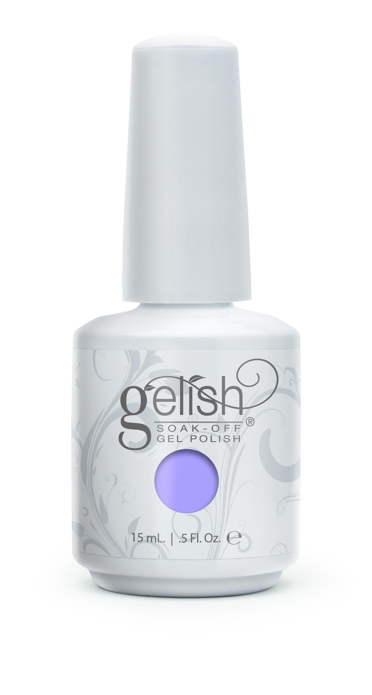 GELISH Гель-лак Po-Riwinkle / GELISH 15млГель-лаки<br>Гель-лак Gelish наносится на ноготь как лак, с помощью кисточки под колпачком. Процедура нанесения схожа с&amp;nbsp;нанесением обычного цветного покрытия. Все гель-лаки Harmony Gelish выполняют функцию еще и укрепляющего геля, делая ногти более прочными и длинными. Ногти клиента находятся под защитой гель-лака, они не ломаются и не расслаиваются. Гель-лаки Gelish после сушки в LED или УФ лампах держатся на натуральных ногтях рук до 3 недель, а на ногтях ног до 5 недель. Способ применения: Подготовительный этап. Для начала нужно сделать маникюр. В зависимости от ваших предпочтений это может быть европейский, классический обрезной, СПА или аппаратный маникюр. Главное, сдвинуть кутикулу с ногтевого ложа и удалить ороговевшие участки кожи вокруг ногтей. Особенностью этой системы является то, что перед нанесением базового слоя необходимо обработать ноготь шлифовочным бафом Harmony Buffer 100/180 грит, для того, чтобы снять глянец. Это поможет улучшить сцепку покрытия с ногтем. Пыль, которая осталась после опила, излишки жира и влаги удаляются с помощью обезжиривателя Бондер / GELISH pH Bond 15&amp;nbsp;мл или любого другого дегитратора. Нанесение искусственного покрытия Harmony.&amp;nbsp; После того, как подготовительные процедуры завершены, можно приступать непосредственно к нанесению искусственного покрытия Harmony Gelish. Как и все гелевые лаки, продукцию этого бренда необходимо полимеризовать в лампе. Гель-лаки Gelish сохнут (полимеризуются) под LED или УФ лампой. Время полимеризации: В LED лампе 18G/6G = 30 секунд В LED лампе Gelish Mini Pro = 45 секунд В УФ лампах 36 Вт = 120 секунд В УФ лампе Harmony Mini Portable UV Light = 180 секунд ПРИМЕЧАНИЕ: подвергать полимеризации необходимо каждый слой гель-лакового покрытия! 1)Первым наносится тонкий слой базового покрытия Gelish Foundation Soak Off Base Gel 15 мл. 2)Следующий шаг   нанесение цветного гель-лака Harmony Gelish.&amp;nbsp; 3)Заключительный этап Нанесение