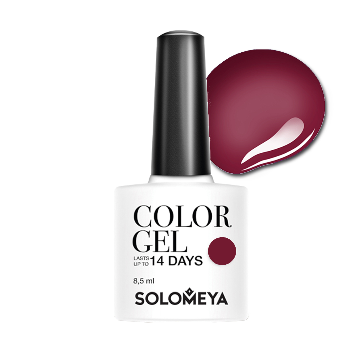 SOLOMEYA Гель-лак для ногтей SCG087 Виктория / Color Gel Victoria 8,5 мл - Гель-лаки