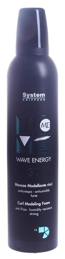 DIKSON Мусс с эффектом памяти для создания эластичных кудрей / WAVE ENERGY MOVE ME 300мл