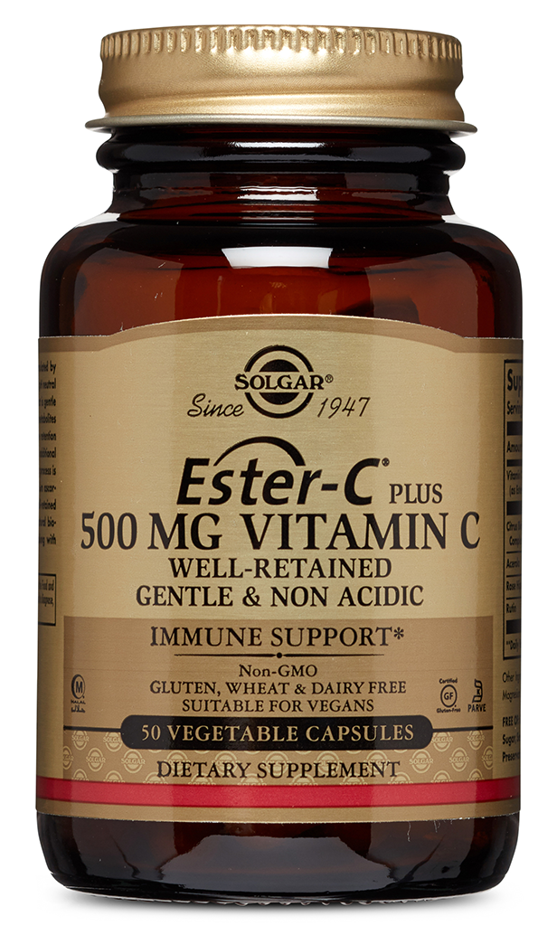 SOLGAR Эстер-С плюс витамин С 500 мг, капсулы № 50