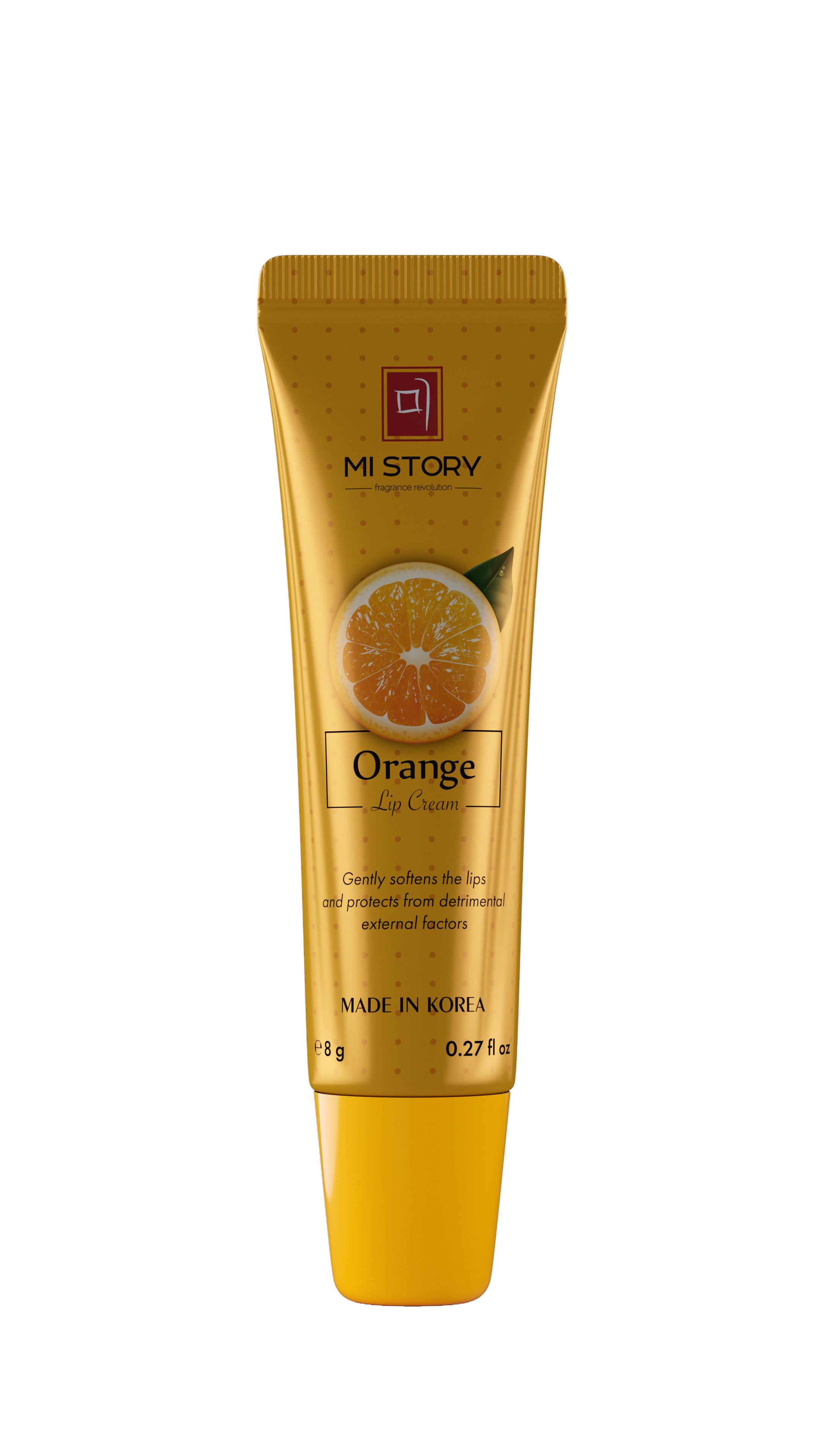 NOLLAM LAB Крем для губ / Mi Story Orange, 8 мл