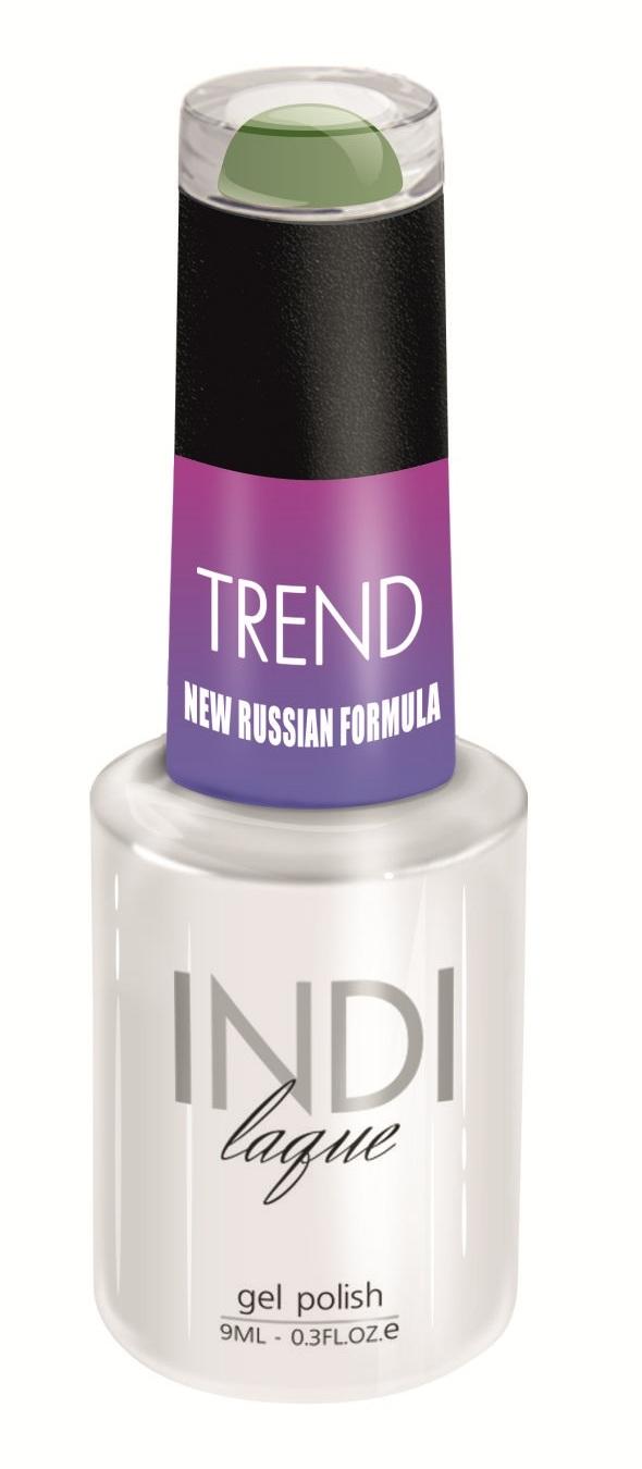Купить RuNail 5055 гель-лак для ногтей / INDI laque Trend 9 мл, Зеленые