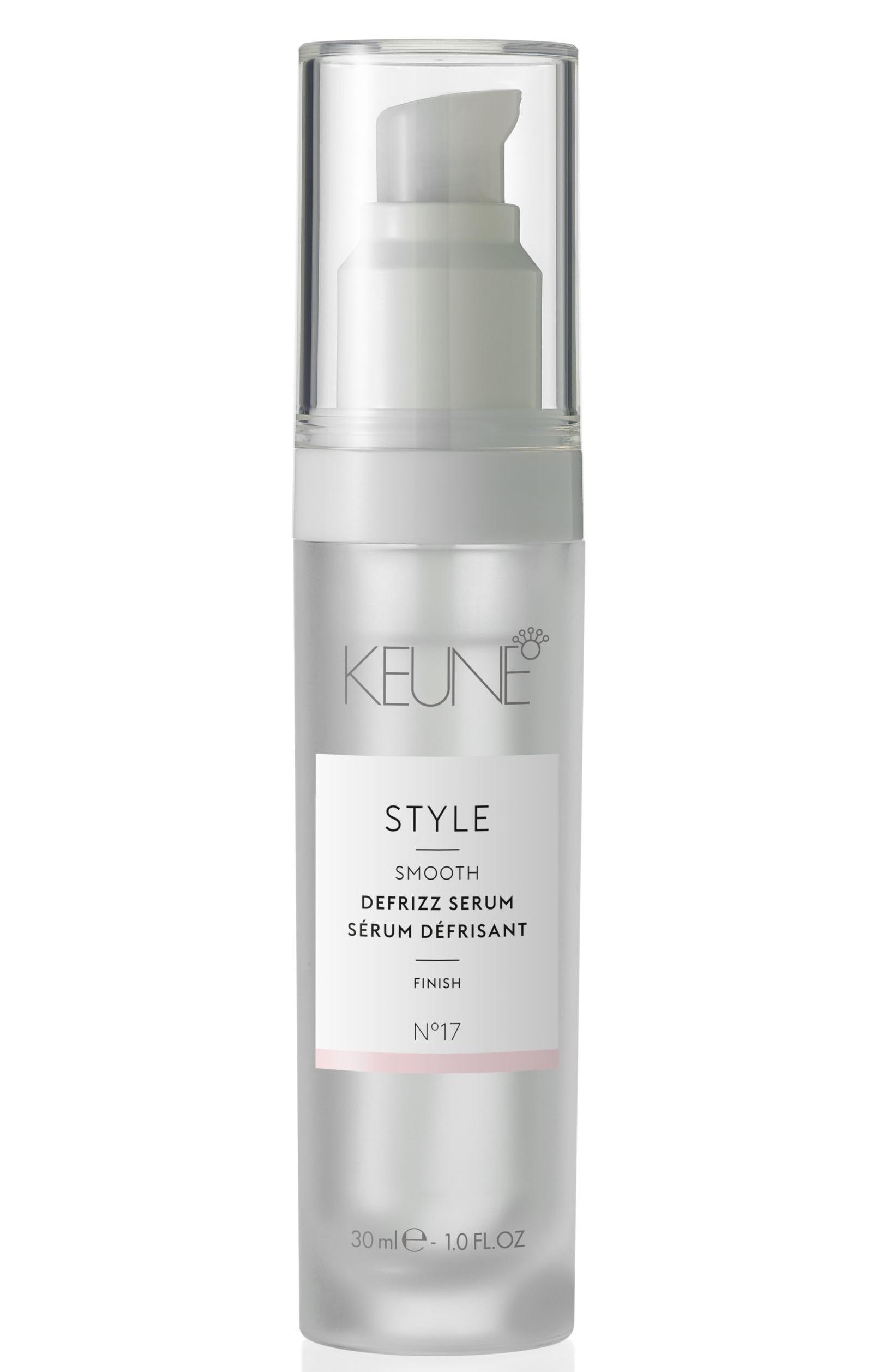 KEUNE Сыворотка для блеска волос / STYLE DEFRIZZ SERUM 30 мл