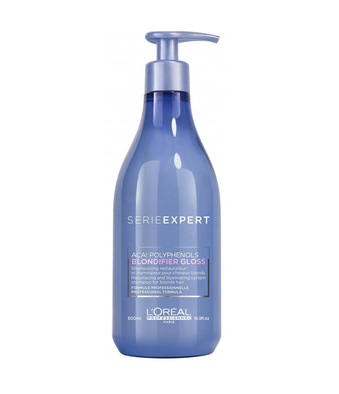 LOREAL PROFESSIONNEL Шампунь для сияния осветленных и мелированных волос / Serie Expert Blondifier Gloss 500 мл