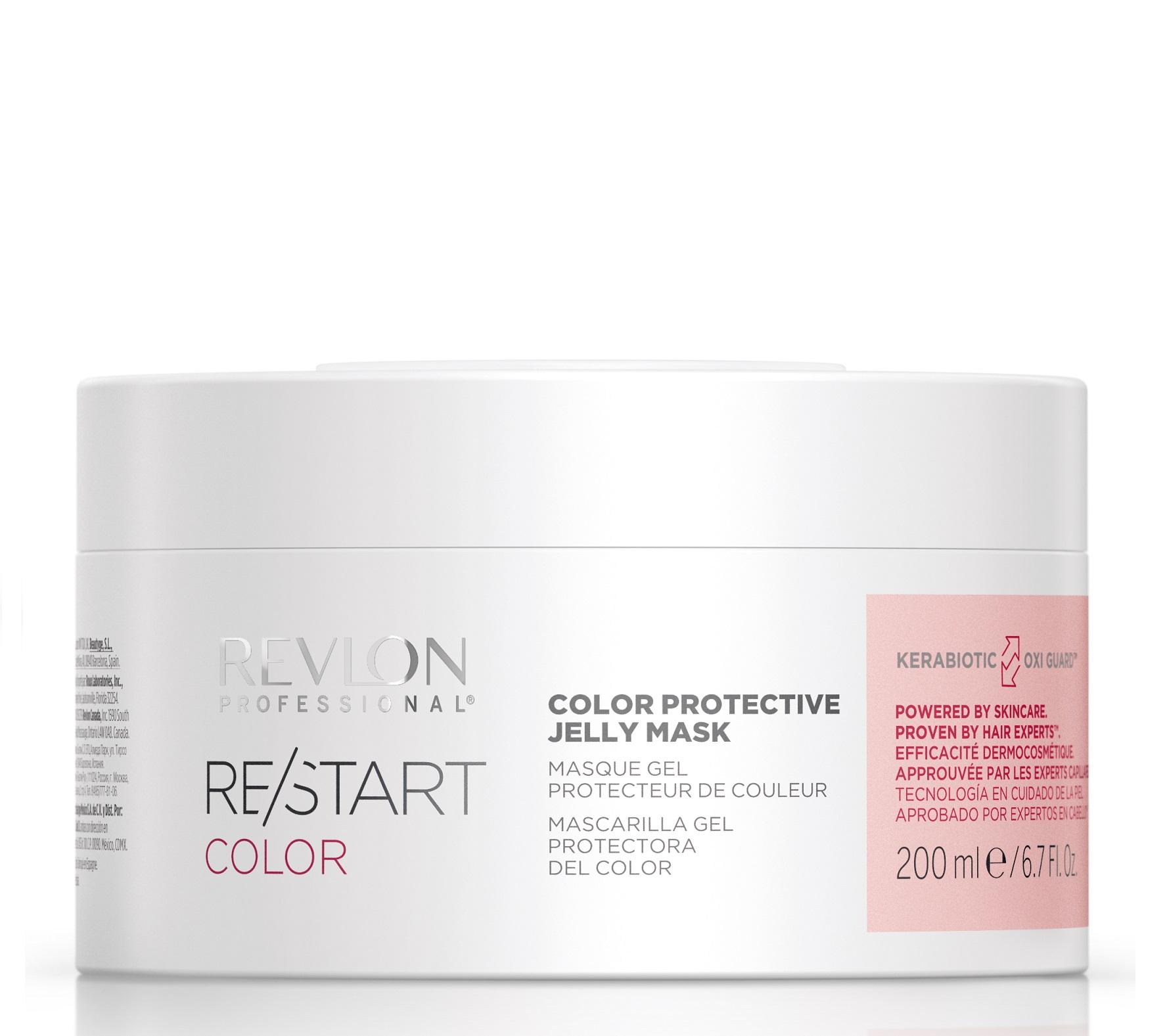 Купить REVLON PROFESSIONAL Гель-маска защитная для окрашенных волос / RESTART COLOR PROTECTIVE JELLY MASK 200 мл
