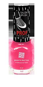 BRIGITTE BOTTIER 834 лак для ногтей, клубника со сливками / PROF FORMULA 12 мл - Лаки