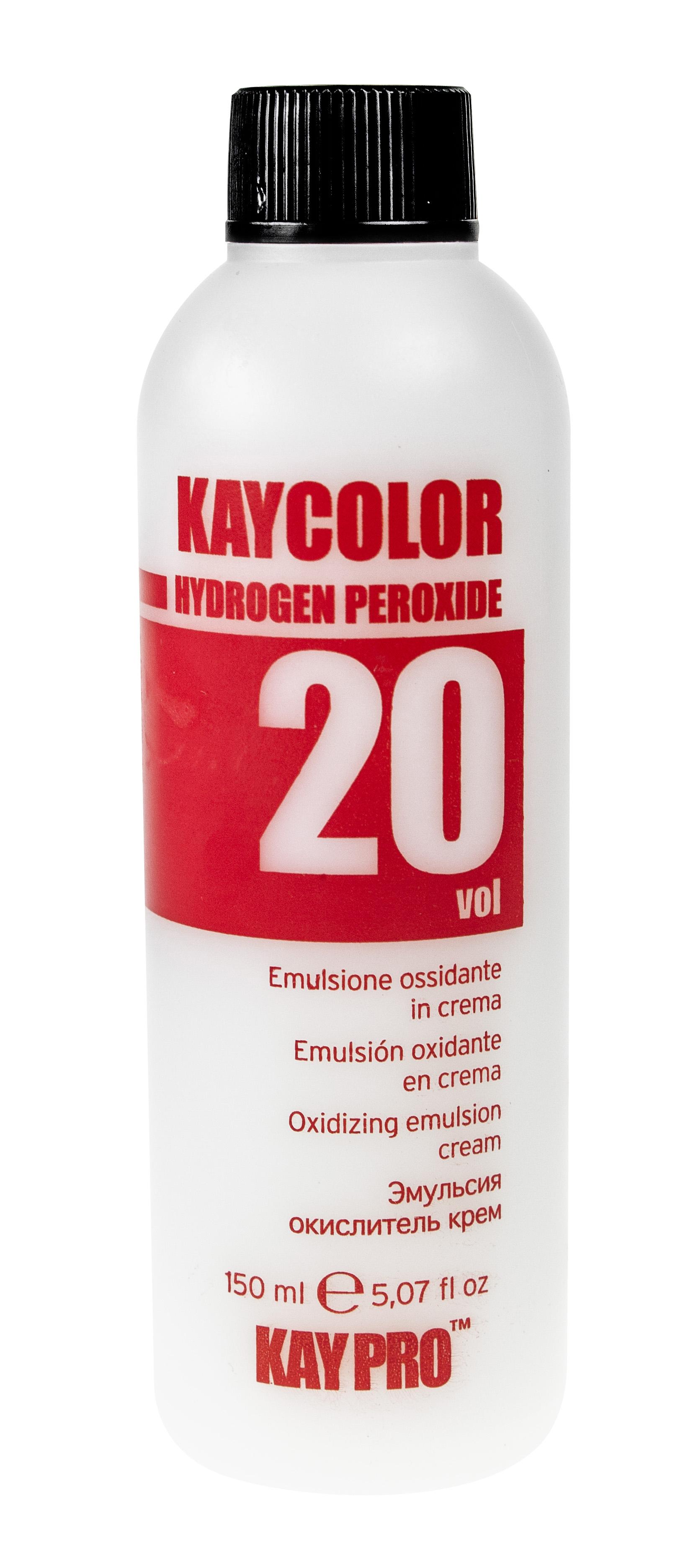 KAYPRO Эмульсия окислительная 20 vol (6%) / KAY COLOR 150мл earth 2 vol 6