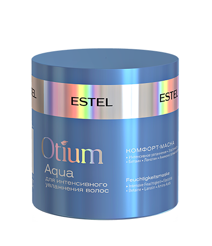 Купить ESTEL PROFESSIONAL Маска-комфорт для интенсивного увлажнения волос / OTIUM AQUA 300 мл