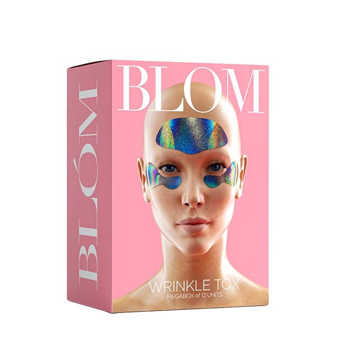 Купить BLOM Набор микроигольных патчей (6 патчей для лба + 6 пар патчей для кожи под глазами) WRINKLE TOX