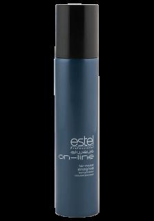 ESTEL PROFESSIONAL Мусс для волос сильной фиксации / Always On-Line 300млМуссы<br>Обеспечивает волосам длительную фиксацию и объем. Придает укладке четкое очертание и фиксирует локоны. Делает волосы пластичными и податливыми к укладке. Профессиональная формула с витамином Е, провитамином B5 и экстрактом личи ухаживает за кожей головы, увлажняет, укрепляет волосы и придаёт им естественный блеск. Обладает антистатическим эффектом. Способ применения: хорошо встряхните флакон. Выдавите мусс, держа баллон насадкой вертикально вниз. Для придания объёма нанесите мусс на прикорневую часть чистых влажных волос. Для моделирования причёски и фиксации локонов распределите равномерно по всей длине волос. Высушите феном.<br><br>Класс косметики: Профессиональная