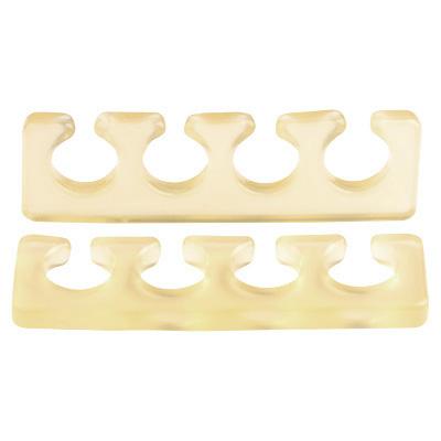 IRISK PROFESSIONAL Расширитель силиконовый для пальцев, 04 прозрачно-желтый 2 шт