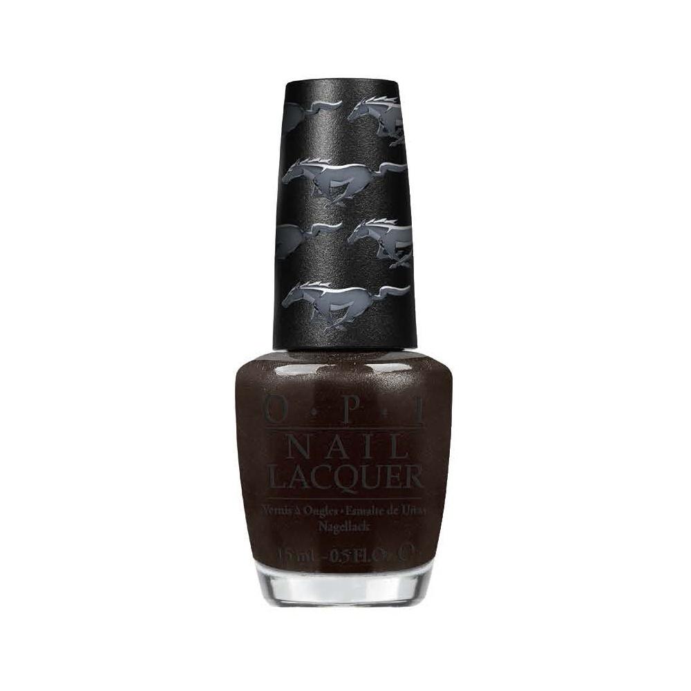 OPI Лак для ногтей NL - Queen of the Road / Ford Mustang 15млЛаки<br>Queen of the Road Королева дороги - черный, классический цвет внутненнего интерьера Мустанга.<br><br>Цвет: Черные<br>Виды лака: Перламутровые