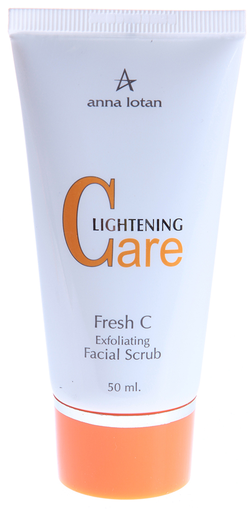 "ANNA LOTAN �����-���������� ��� ���� ""���� �"" / Fresh C Exfoliating Facial Scrub LIGHTENING CARE 50��"