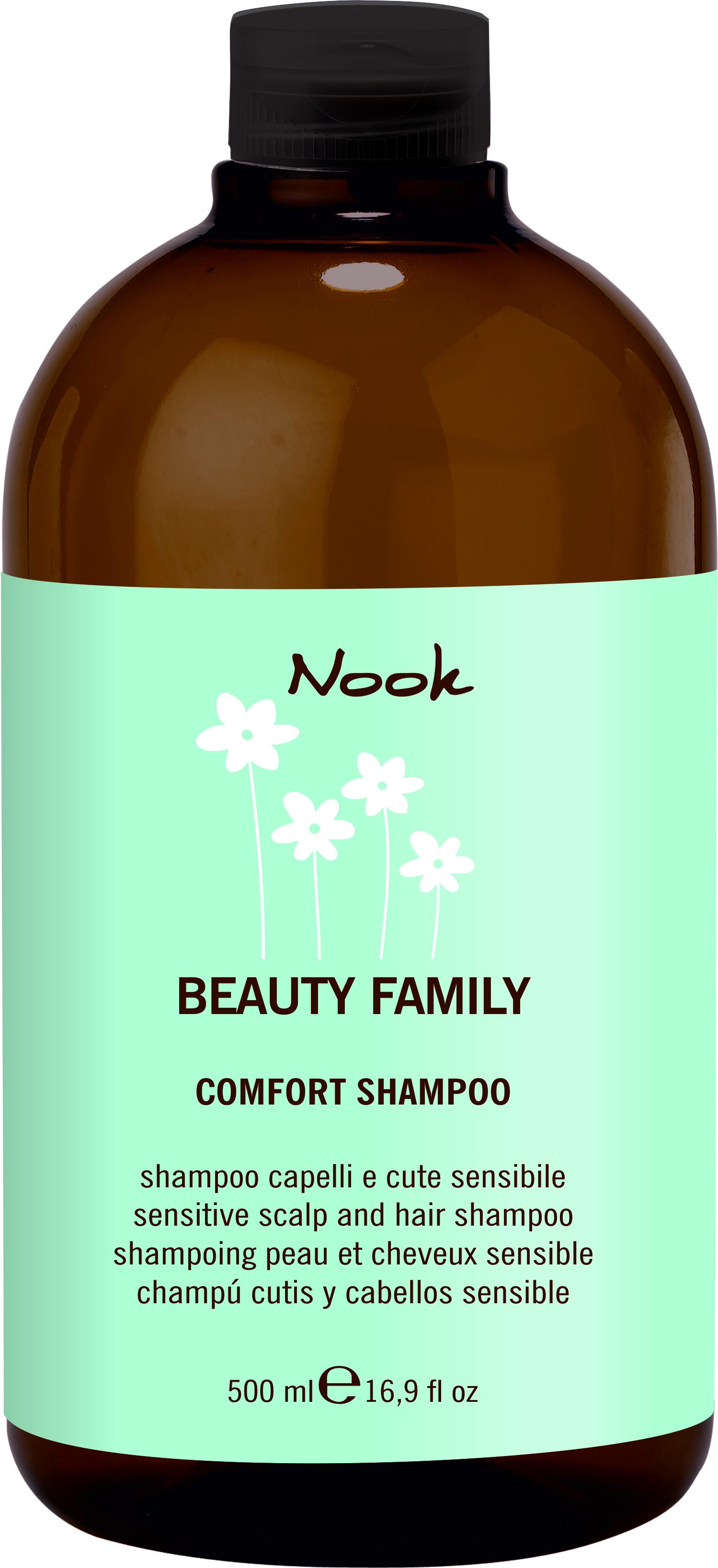 цена NOOK Шампунь для нормальных волос Ph 5,5 / Comfort Shampoo BEAUTY FAMILY 500 мл