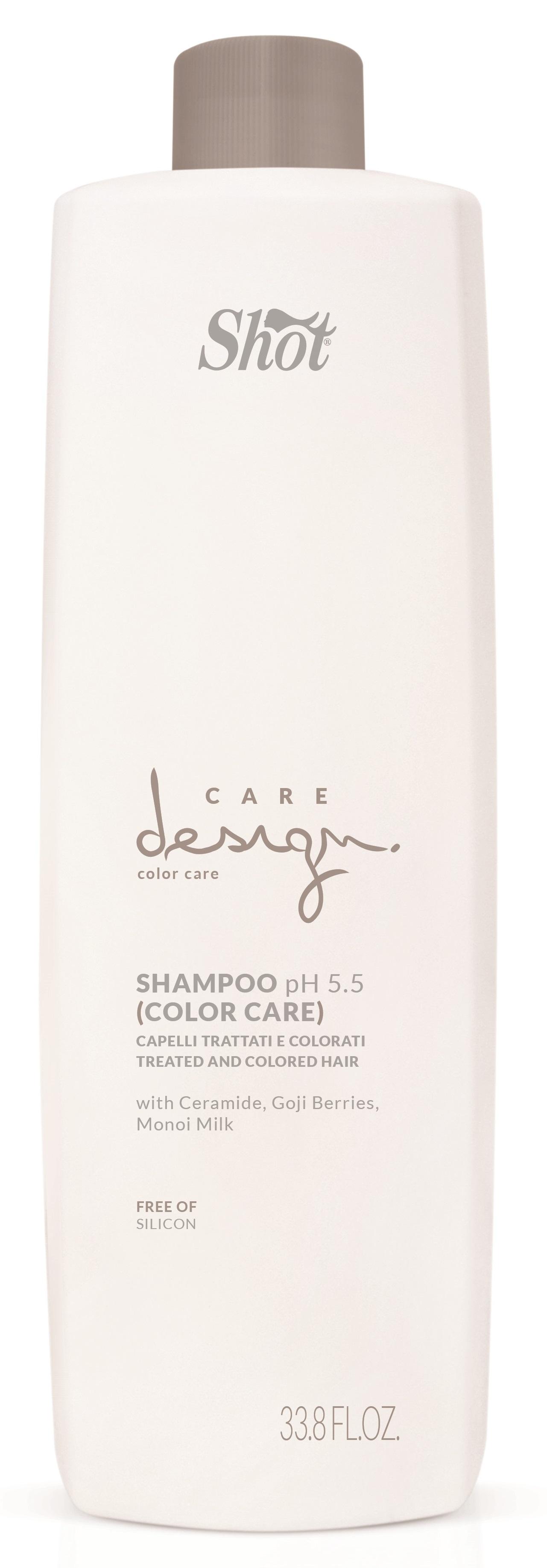 Купить SHOT Шампунь для окрашенных волос / Care Design 1000 мл