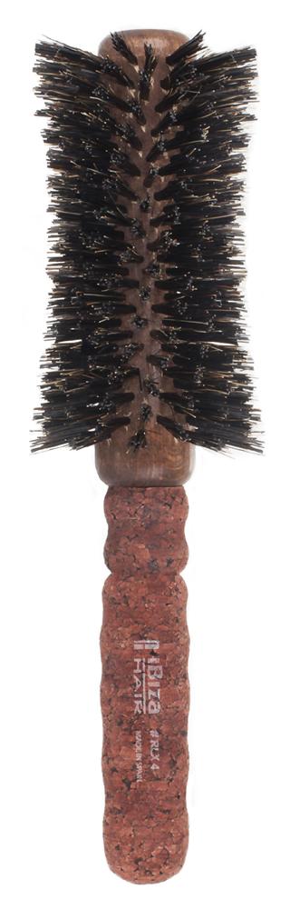 IBIZA HAIR Щетка вогнутая для укладки волос, диаметр 65 мм (красное пробковое дерево)