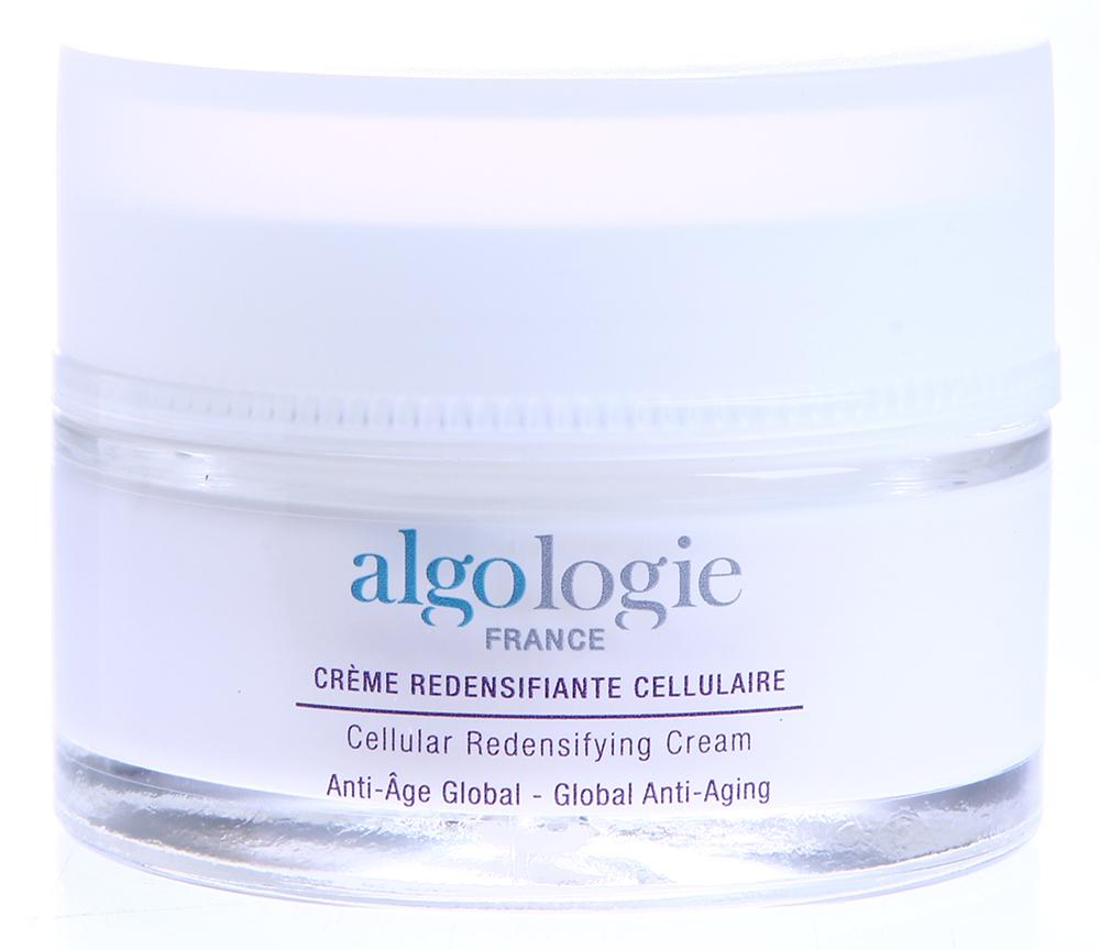 ALGOLOGIE Крем омолаживающий 50млКремы<br>Крем предназначен для интенсивного воздействия на увядающую возрастную кожу и содержит в своем составе растительные стволовые клетки, полученные из водоросли ламинария и морского критмума, а также лифтинговые компоненты, обеспечивающие быстрый видимый результат. Крем оказывает действие в 5 направлениях: уменьшает глубину морщин, придает коже внутреннее сияние, укрепляет и подтягивает кожу, уменьшает возрастные пигментные пятна, дарит ощущение комфорта и смягчает кожу. Активные ингредиенты: Стволовые клетки ламинарии и морского критмума, Альго3 комплекс, экстракт водорослей пальмария пальмата и пельвеции. Способ применения: Нанести на кожу по массажным линиям до полного впитывания.<br><br>Вид средства для лица: Омолаживающий