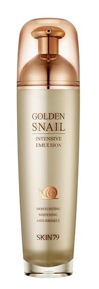 SKIN79 Эмульсия с улиточным муцином и золотом для лица / Golden Snail Intensive Emulsion 130 мл