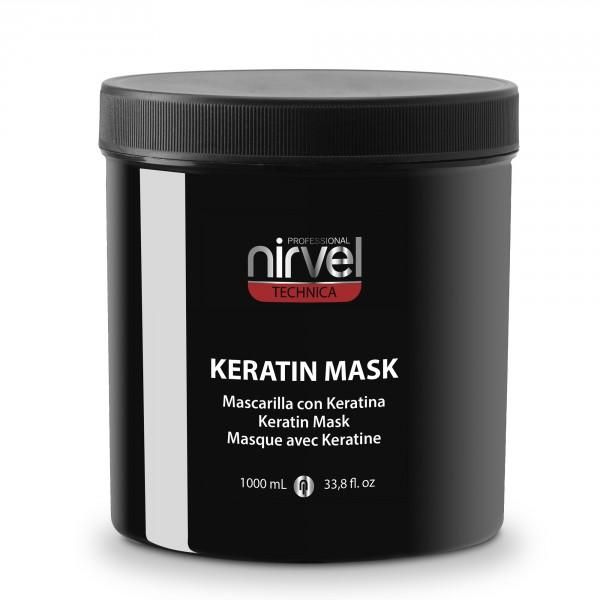 NIRVEL PROFESSIONAL Маска кератиновая для мощного восстановления и увлажнения волос / KERATIN MASK №6 1000 мл