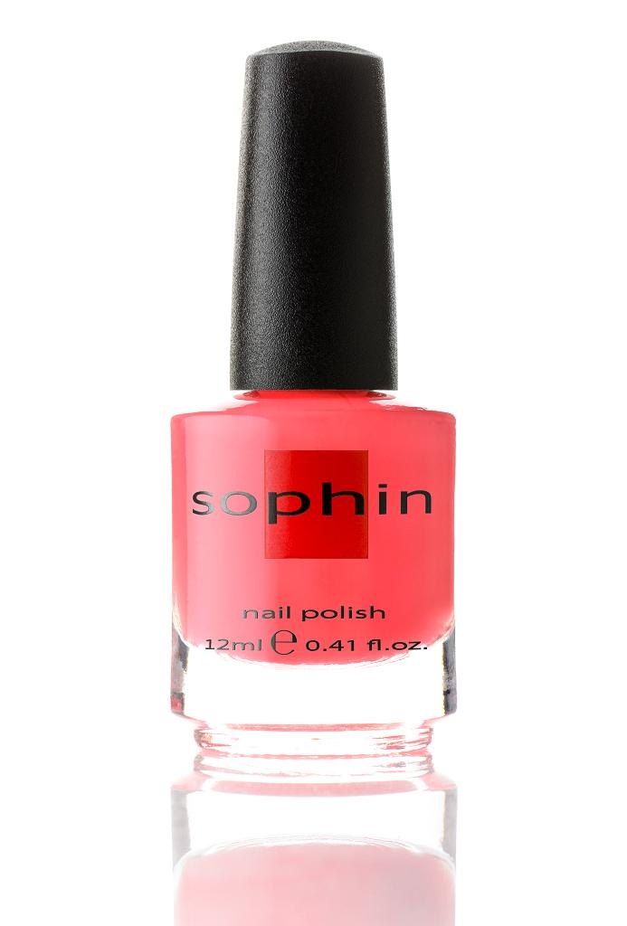 SOPHIN Лак для ногтей, коралловый / Summer 12мл