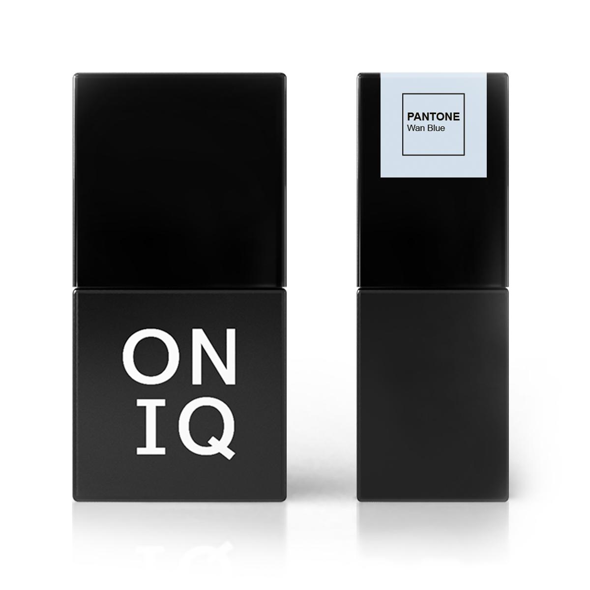 ONIQ Гель-лак для покрытия ногтей, Pantone: Wan Blue, 10 мл
