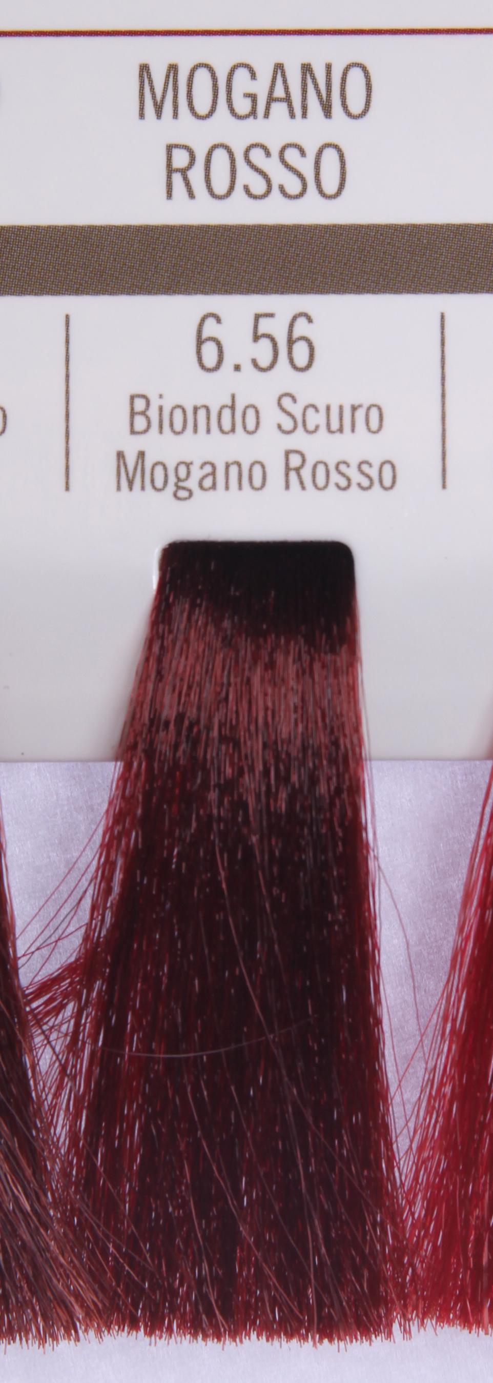 BAREX 6.56 краска для волос / PERMESSE 100млКраски<br>Оттенок: Темный блондин махагоново-красный. Профессиональная крем-краска Permesse отличается низким содержанием аммиака - от 1 до 1,5%. Обеспечивает блестящий и натуральный косметический цвет, 100% покрытие седых волос, идеальное осветление, стойкость и насыщенность цвета до следующего окрашивания. Комплекс сертифицированных органических пептидов M4, входящих в состав, действует с момента нанесения, увлажняя волосы, придавая им прочность и защиту. Пептиды избирательно оседают в самых поврежденных участках волоса, восстанавливая и защищая их. Масло карите оказывает смягчающее и успокаивающее действие. Комплекс пептидов и масло карите стимулируют проникновение пигментов вглубь структуры волоса, придавая им здоровый вид, блеск и долговечность косметическому цвету. Активные ингредиенты:&amp;nbsp;Сертифицированные органические пептиды М4 - пептиды овса, бразильского ореха, сои и пшеницы, объединенные в полифункциональный комплекс, придающий прочность окрашенным волосам, увлажняющий и защищающий их. Сертифицированное органическое масло карите (масло ши) - богато жирными кислотами, экстрагируется из ореха африканского дерева карите. Оказывает смягчающий и целебный эффект на кожу и волосы, широко применяется в косметической индустрии. Масло карите защищает волосы от неблагоприятного воздействия внешней среды, интенсивно увлажняет кожу и волосы, т.к. обладает высокой степенью абсорбции, не забивает поры. Способ применения:&amp;nbsp;Крем-краска готовится в смеси с Молочком-оксигентом Permesse 10/20/30/40 объемов в соотношении 1:1 (например, 50 мл крем-краски + 50 мл молочка-оксигента). Молочко-оксигент работает в сочетании с крем-краской и гарантирует идеальное проявление краски. Тюбик крем-краски Permesse содержит 100 мл продукта, количество, достаточное для 2 полных нанесений. Всегда надевайте подходящие специальные перчатки перед подготовкой и нанесением краски. Подготавливайте смесь крем-краски и молочка-оксигента Perm