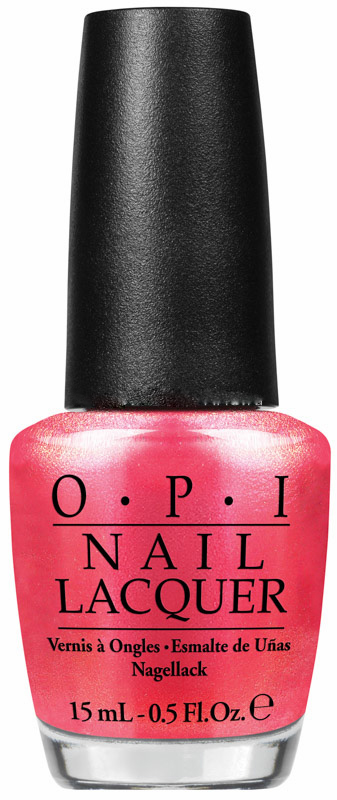 OPI Лак для ногтей Cant Hear Myself Pink! / Brights Edition 15мл