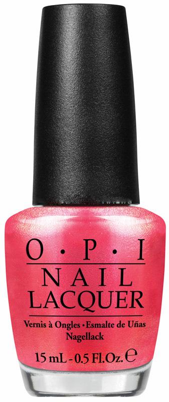 OPI Лак для ногтей Cant Hear Myself Pink! / Brights Edition 15млЛаки<br>Can't Hear Myself Pink — мерцающий золотисто-розовый. - модные оттенки: самые горячие и желанные цвета сезона; - насыщенные цвета: высокопигментированные оттенки обеспечивают оптимальное покрытие: - насыщенный блеск: экстра глянец хорошо отражает свет; - быстрое нанесение в два слоя: эксклюзивная кисть ProWide для гладкого ровного покрытия; - долговечный цвет: устойчивое к сколам покрытие, стойкий блеск; - легендарные названия оттенков: скоро они будут у всех на устах. Способ применения: нанесите на ногти 1-2 слоя цветного лака после нанесения базового покрытия. Для придания прочности и создания блеска затем рекомендуется использовать верхнее покрытие.<br><br>Цвет: Розовые<br>Объем: 15 мл<br>Виды лака: Глянцевые