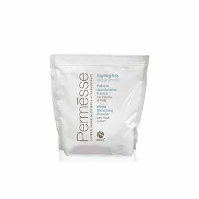 BAREX Порошок обесцвечивающий белый с жемчугом / PERMESSE 500грПудры<br>Рекомендуется для всех видов обесцвечивания волос, в том числе для полного обесцвечивания, мелирования, балаяжа. При смешивании с молочком &amp;ndash; оксигентом Permesse позволяет добиться осветления до 6-7 тонов. Жемчужный порошок в составе обесцвечивающего порошка защищает от повреждения структуру волоса и максимально уменьшает возможность раздражения кожи головы. Имеет более низкий pH по сравнению с традиционными обесцвечивающими порошками, благодаря чему оказывает на волосы щадящий эффект. Компактная формула порошка создана для комфортной работы в салоне, не пылит. Способ применения: Согласно инструкции.<br><br>Тип: Порошок<br>Вид средства для волос: Щадящая