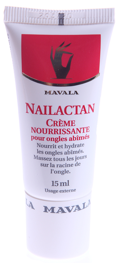 MAVALA Крем питательный для поврежденных ногтей Нэйлактан, в тубе / Nailactan 15 мл - Лечебные средства