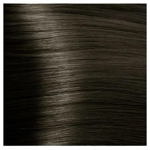 KAPOUS NA 6.18 краска для волос, темный блондин лакричный / Magic Keratin 100 мл