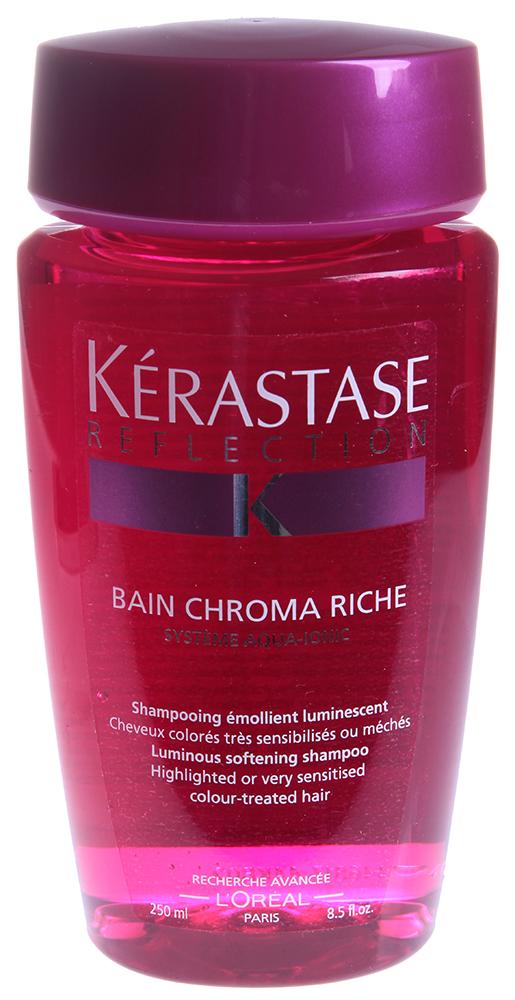 KERASTASE Шампунь для поврежденных и осветленных окрашенных волос Хрома Риш / REFLECTION 250мл