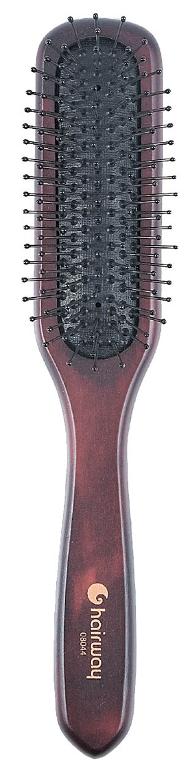 HAIRWAY Щетка массажная деревянная 1840 (08044)