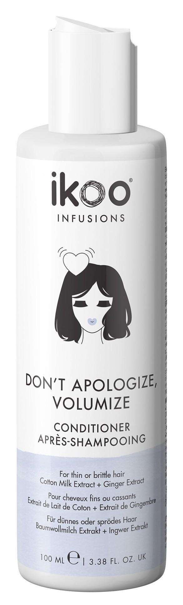 Купить IKOO Кондиционер для волос Непростительный объем / Conditioner Don't Apologize, Volumize 100 мл