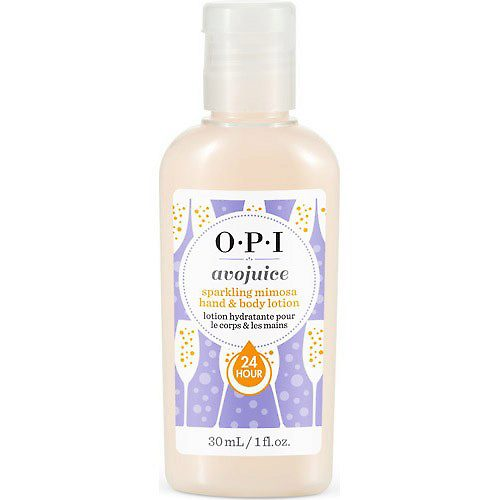 "OPI Лосьон для рук и тела ""Sparkling Mimosa"" / Avojuice Hand & Body Lotion 30мл"