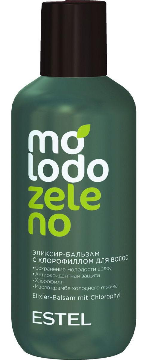 ESTEL PROFESSIONAL Бальзам-эликсир с хлорофиллом для волос / Molodo Zeleno 200 мл