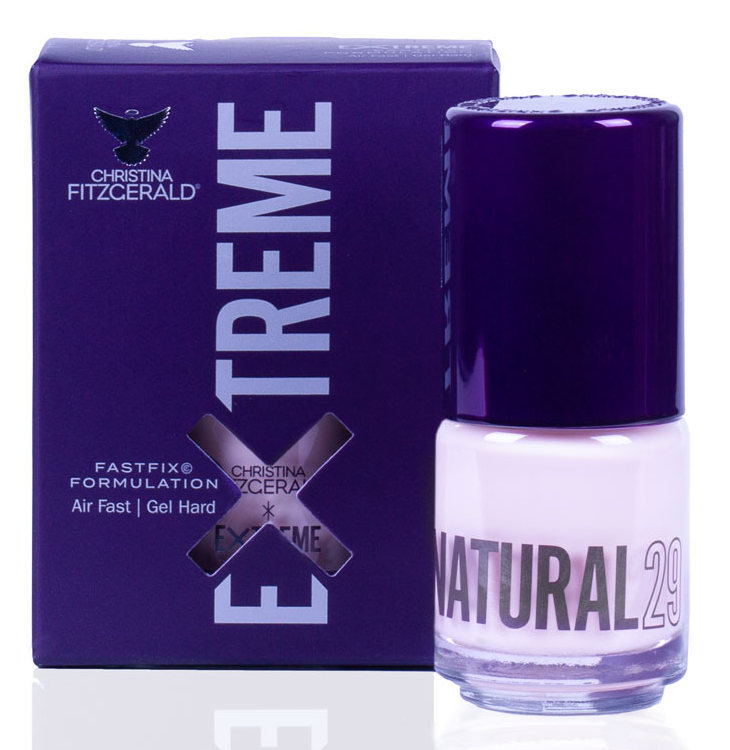 Купить CHRISTINA FITZGERALD Лак для ногтей 29 / NATURAL EXTREME 15 мл, Розовые