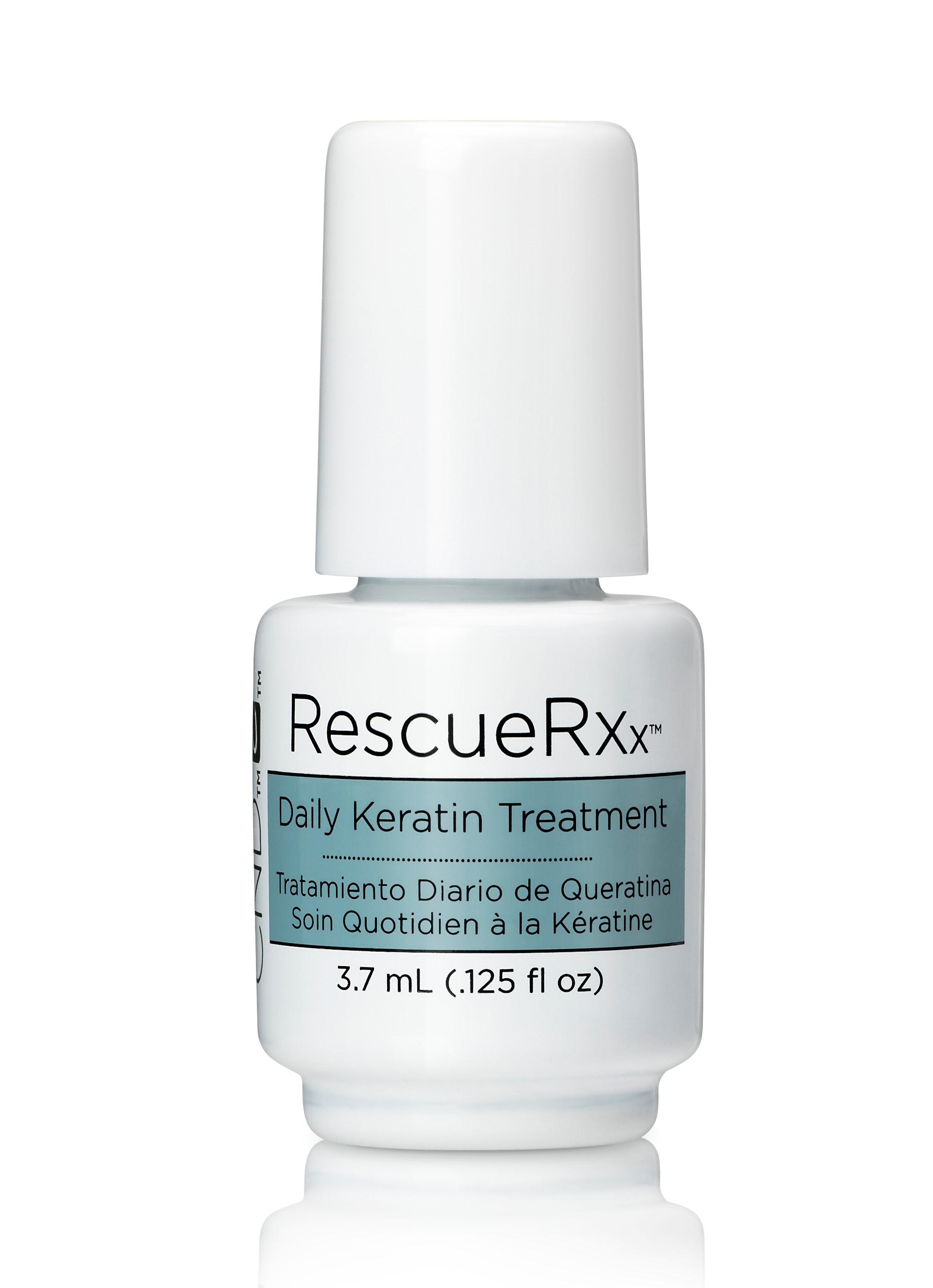 CND Средство для укрепления ногтей (кератин) / RescueRXx™ 3,7 мл - Лечебные средства