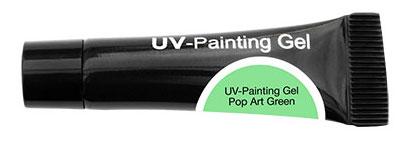CND Гель-краска УФ (не использовать на натуральных ногтях) / OH UV-Painting Gel Pop Art Green 5мл