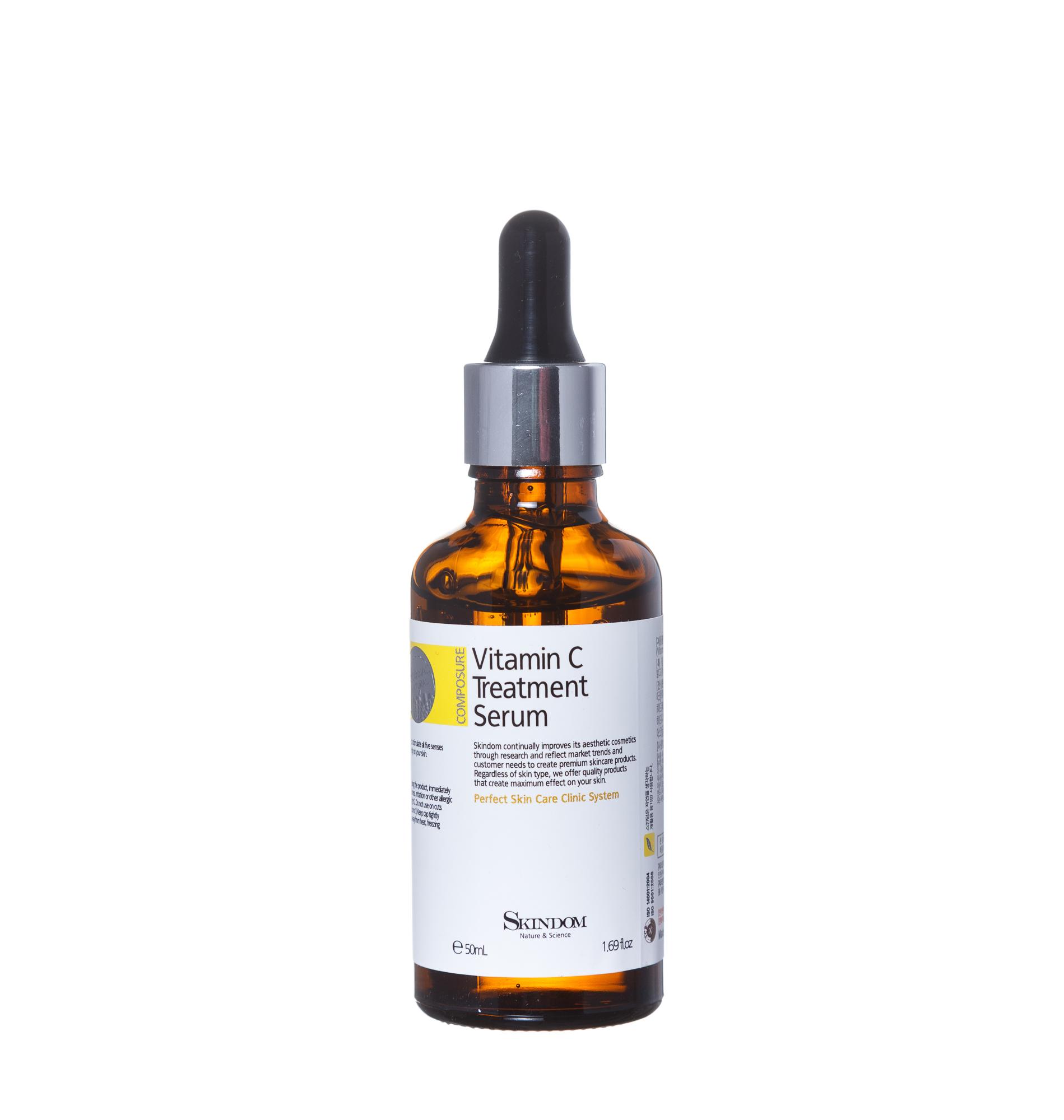 Купить SKINDOM Сыворотка с витамином С / VITAMIN C TREATMENT SERUM 50 мл