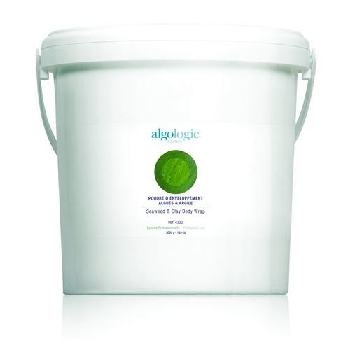 ALGOLOGIE Пудра из водорослей и глины для обертывания 5 кг