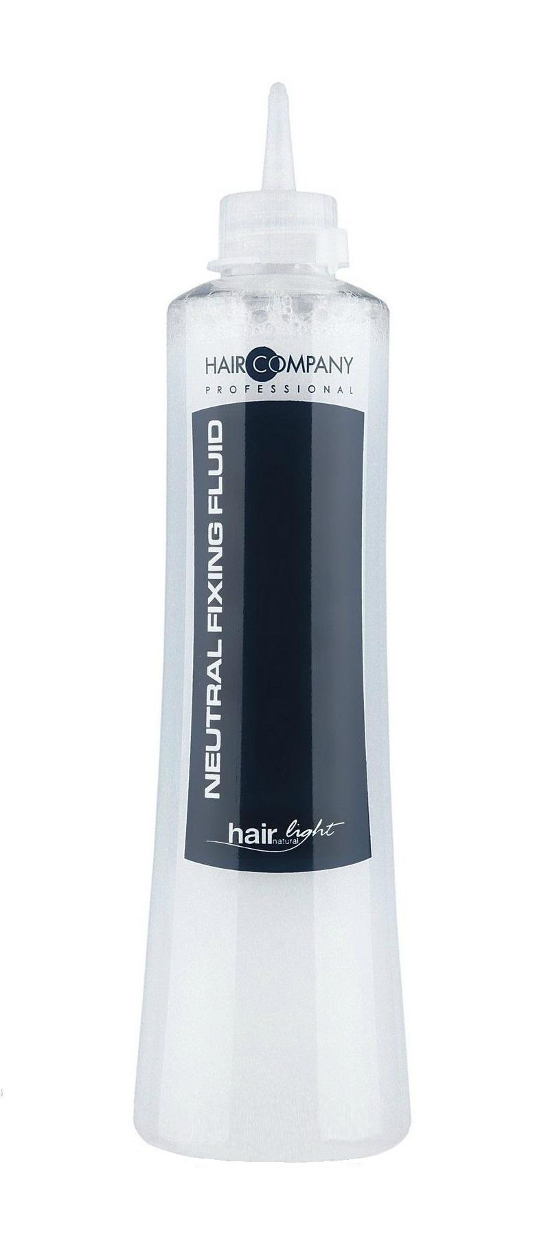 Купить HAIR COMPANY Фиксатор-нейтрализатор, жидкость для химической завивки волос / Hair Light Neutral Fixing Fluid 500 мл