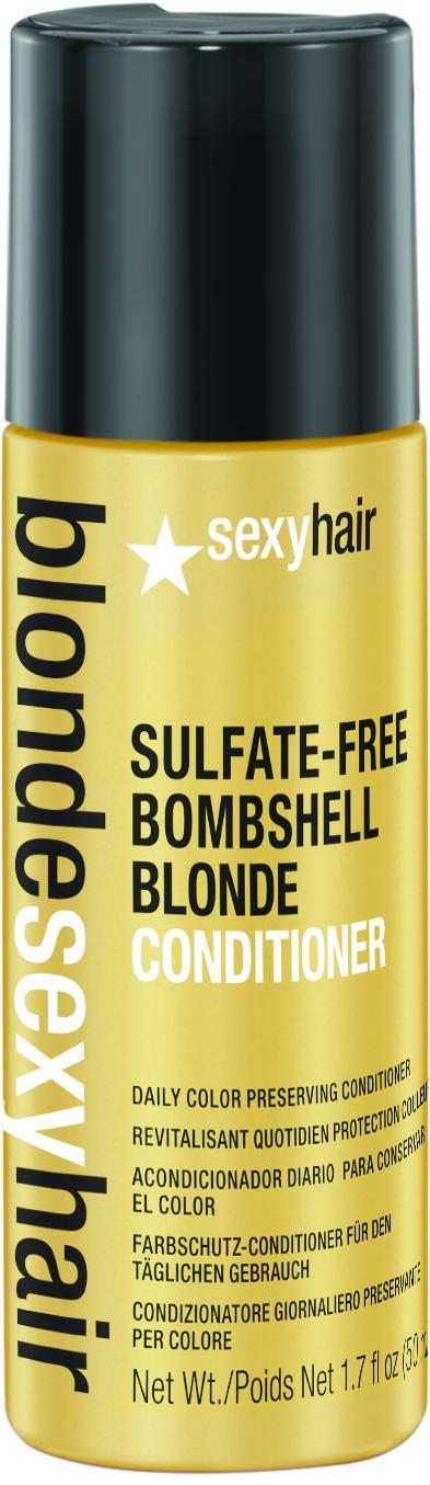 SEXY HAIR Кондиционер для сохранения цвета блонд без сульфатов / BLOND 50мл